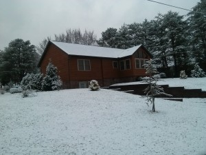 Ordinaire Here Is What It Looked Like At The Cabin This Week! Here Is Family Memories  With A Coating Of The White Stuff!