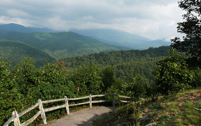Boogerman Trail • in North Carolina