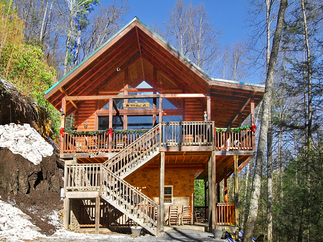 Smoky mountain secluded cabins cabin rentals for Smoky mountain nc cabin rentals