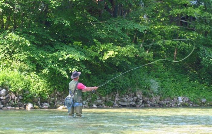 Fly Fishing  Smoky Mountains National Park