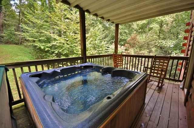 bear falls hot tub