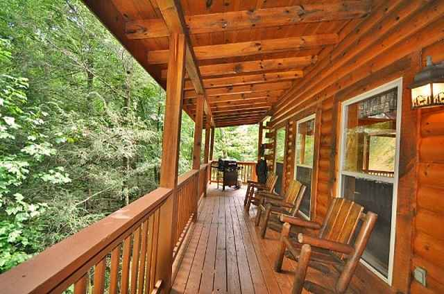 bear falls side porch