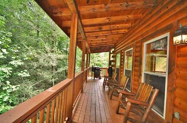 bear falls side porch