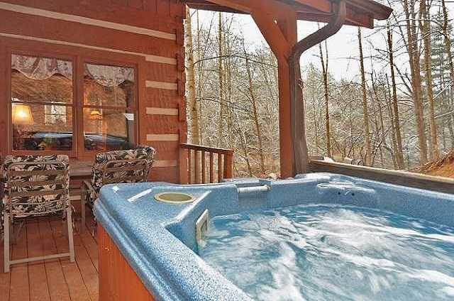 bear lodge hot tub