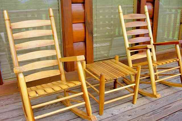 golden memories cabin rocking chairs