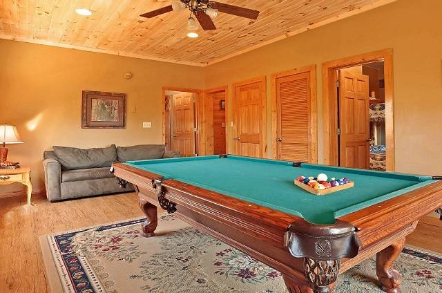 heavens view pool table