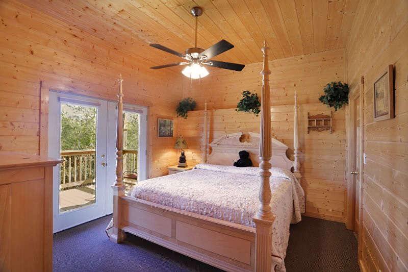 precious memories cabin bedroom
