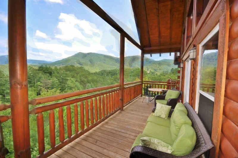 precious memories cabin view