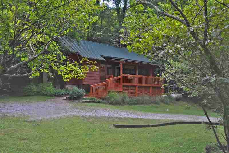 Peaceful smoky mountain cabin rental in townsend tn for Privately owned cabins in the smoky mountains