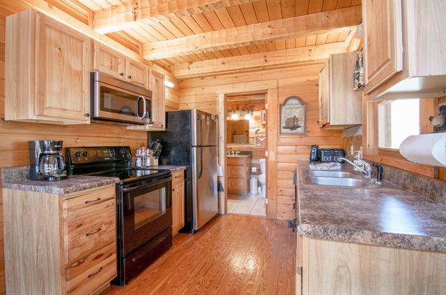 bear lodge kitchen