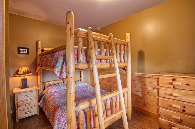 Queen over queen bunk beds!